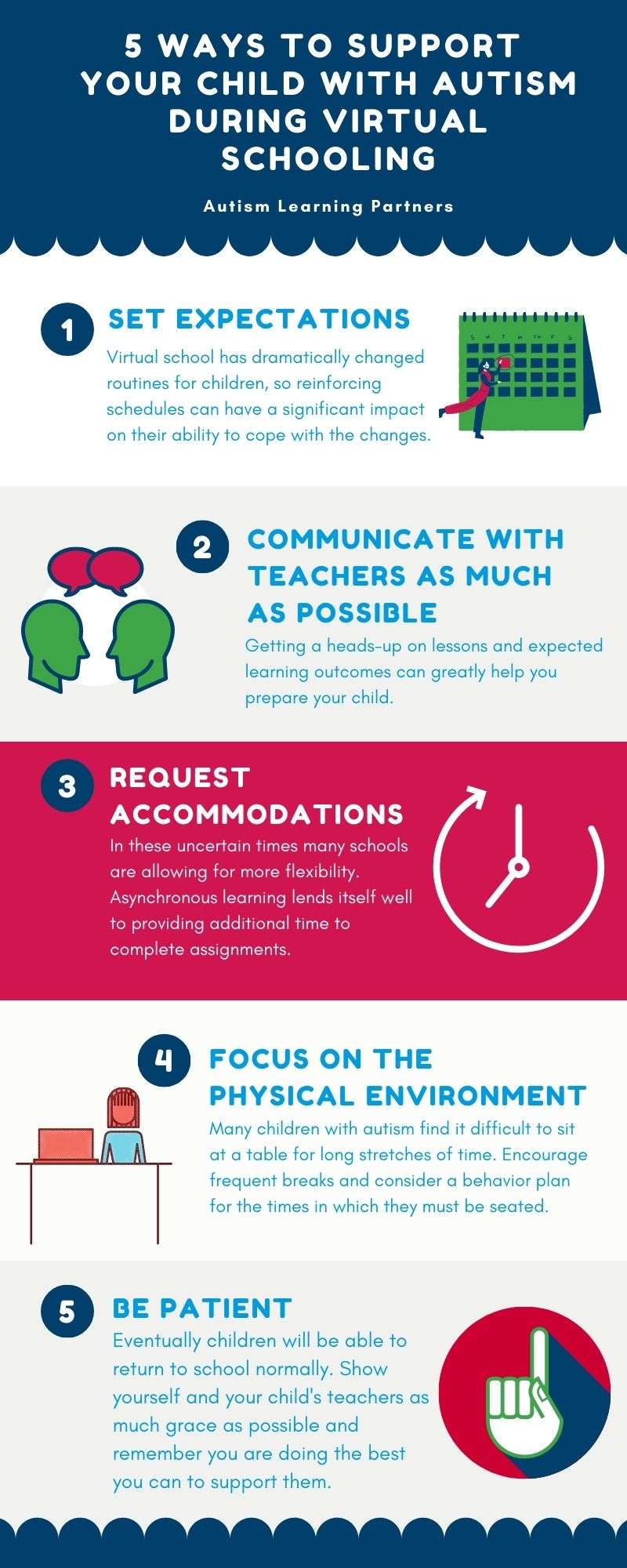 5 Ways To Support Your Child With Autism During Virtual Schooling