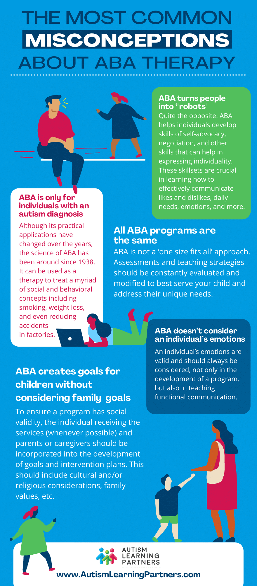10 Common Misconceptions about ABA infographic